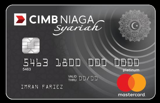 CIMB Niaga Mastercard Syariah Platinum
