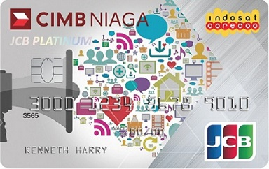 CIMB Niaga Indosat Ooredoo Card