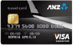 ANZ Visa Travel Signature