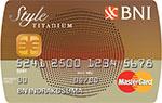 BNI MasterCard Style Titanium