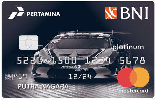 BNI - BNI Pertamina Platinum Card