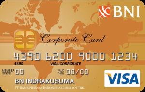 BNI Visa Corporate Gold