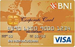 BNI Visa Corporate Gold
