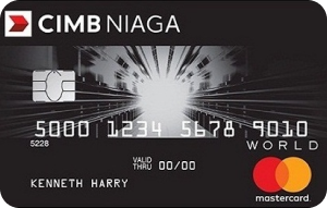 CIMB Niaga Mastercard World