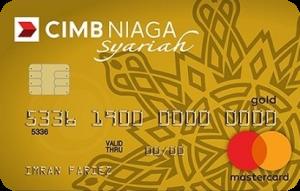 CIMB Niaga Mastercard Syariah Gold