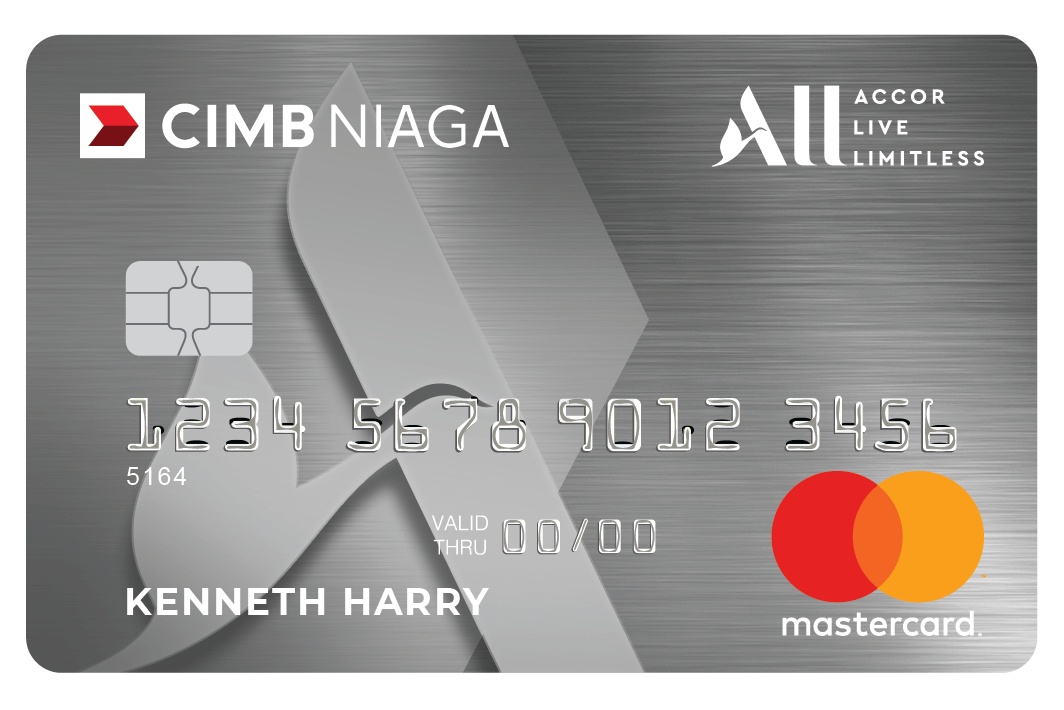CIMB Niaga - CIMB Niaga Platinum ALL Accor Live Limitless Card