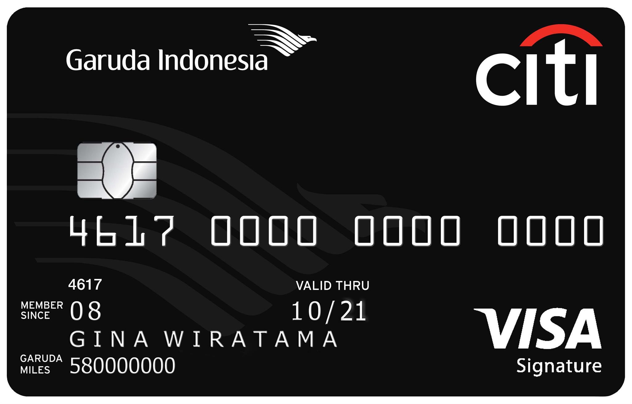 Citi - Garuda Indonesia Citi Card