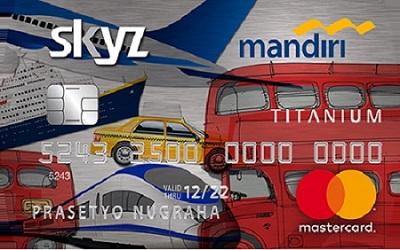 Mandiri Mastercard Skyz
