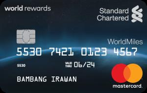 Standard Chartered WorldMiles