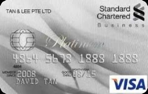 Standard Chartered Bank Visa Business Platinum