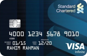 Standard Chartered Bank Visa Infinite