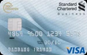 Standard Chartered Bank Visa Business Regular