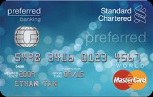 Standard Chartered Bank Mastercard World