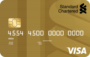 Standard Chartered Bank Visa Gold