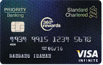Standard Chartered Bank Visa Infinite