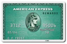 Danamon American Express Green Charge Card