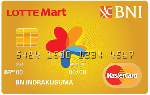 BNI Mastercard Lottemart Gold